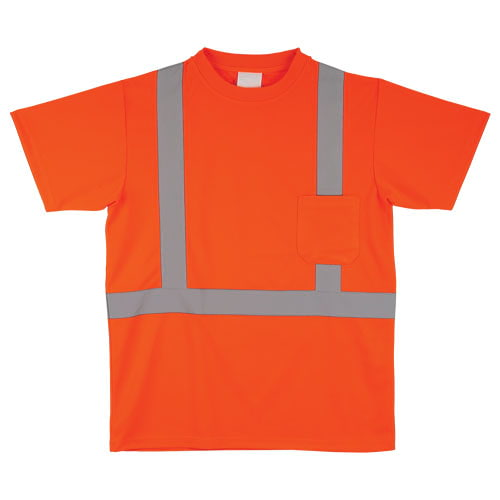 J. J. Keller™ SAFEGEAR™ Orange Safety T-Shirt Type R Class 2 (015752)