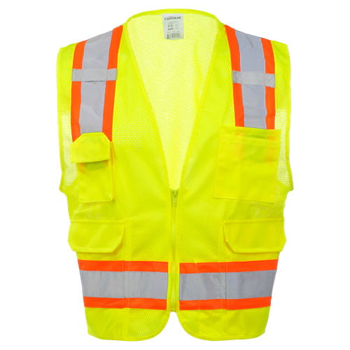 J. J. Keller™ SAFEGEAR™ Surveyor Vest Type R Class 2 (015754)