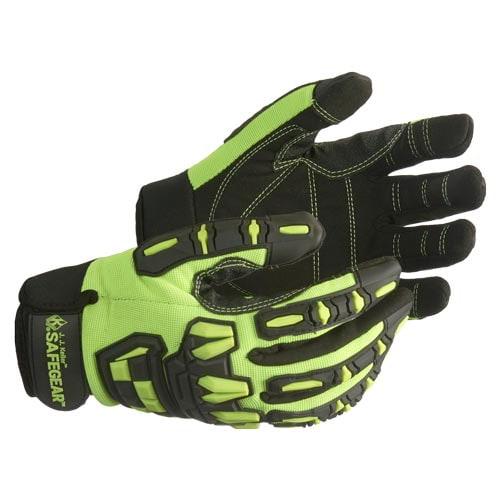 J. J. Keller™ SAFEGEAR™ Mechanics Impact Reducing Gloves (015901)