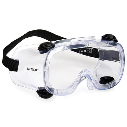 J. J. Keller™ SAFEGEAR™ Indirect Vent Safety Goggles (015911)