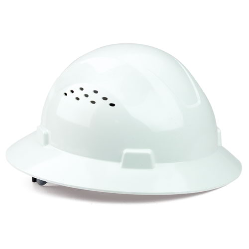 J. J. Keller™ SAFEGEAR™ Full Brim Ratchet Hard Hat (015920)