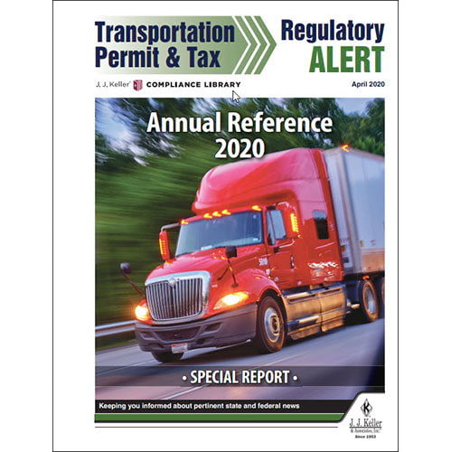 Special Report - Annual Reference 2020 (014141)