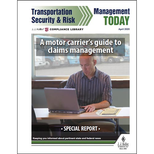 Special Report - A Motor Carrier's Guide to Claims Management (016031)