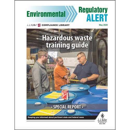 Special Report - Hazardous Waste Training Guide (016032)