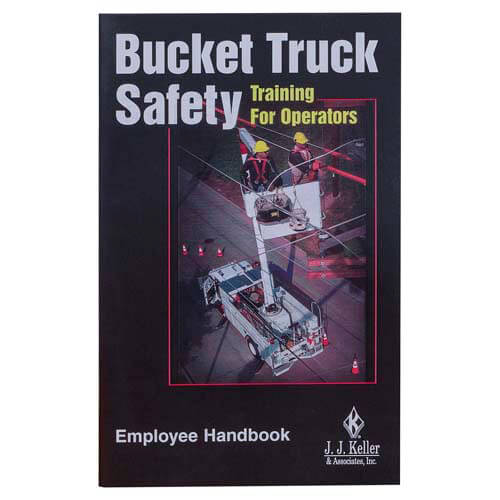 Bucket Truck Safety Training For Operators - Employee Handbook (00770)