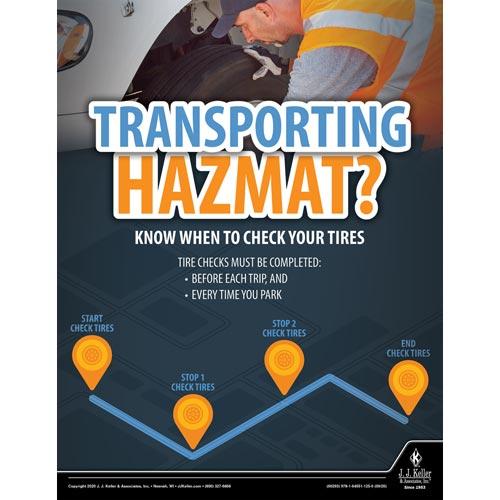 Transporting Hazmat - Hazmat Transportation Poster (017015)