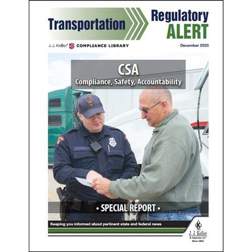 Special Report - CSA: Compliance, Safety, Accountability (016040)