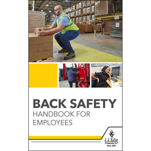 Back Safety Handbook for Employees (017074)