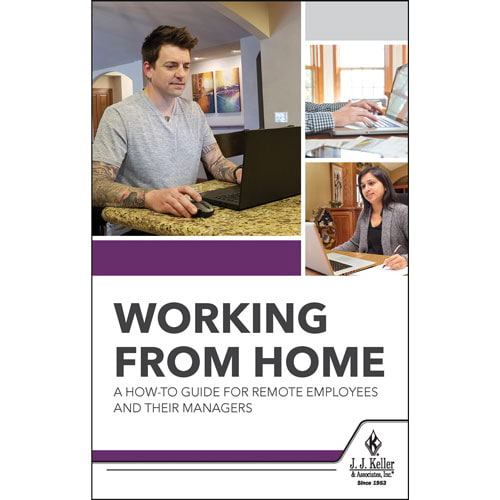 Working From Home: A How-To Guide For Remote Employees and Their Managers - Handbook (017075)