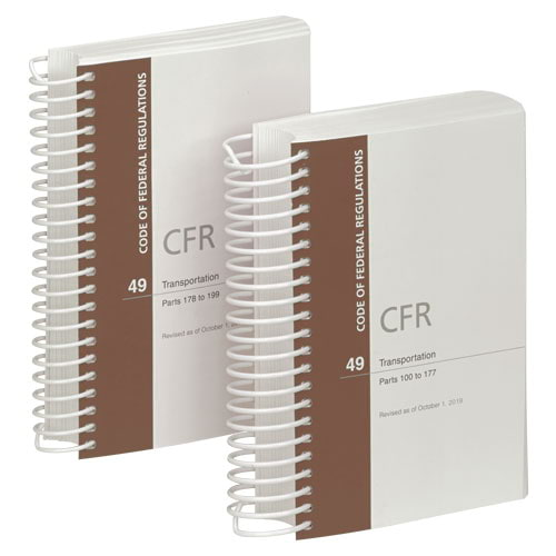 49 CFR Parts 100-199 (012813)