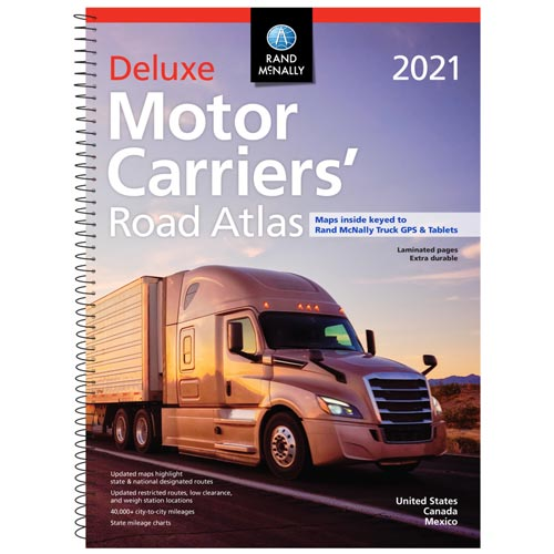 Rand McNally Deluxe Motor Carriers Road Atlas (03942)