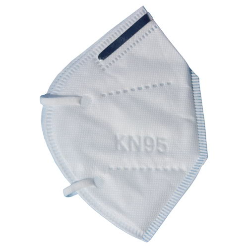 Disposable KN95 4-Layer White Face Mask (017365)