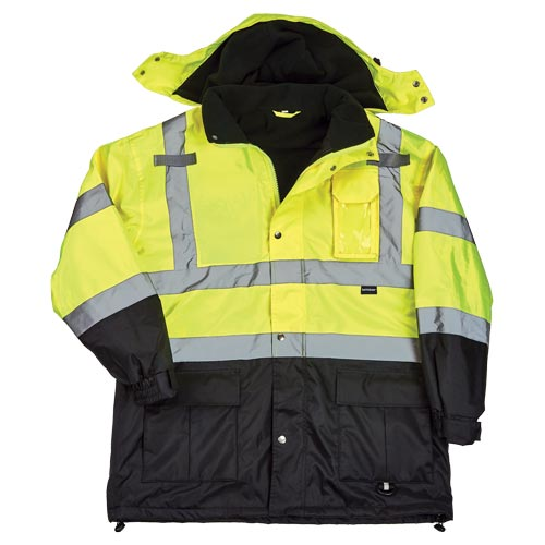 J. J. Keller™ SAFEGEAR™ Fleece-Lined Parka Jacket Type R Class 3 (017476)