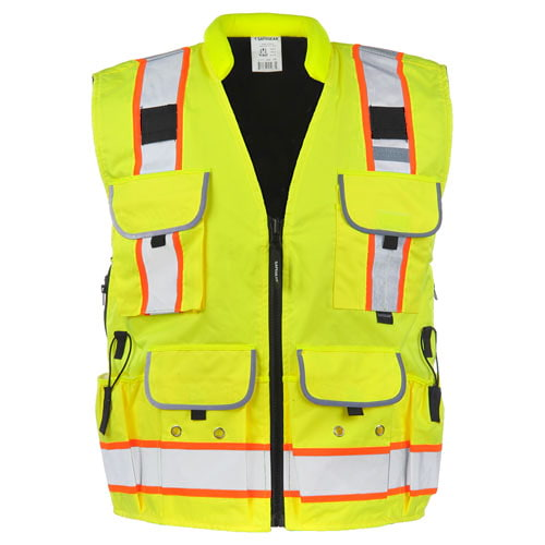 J. J. Keller™ SAFEGEAR™ Reversible Fleece-Lined Winter Vest Type R Class 2 (017478)