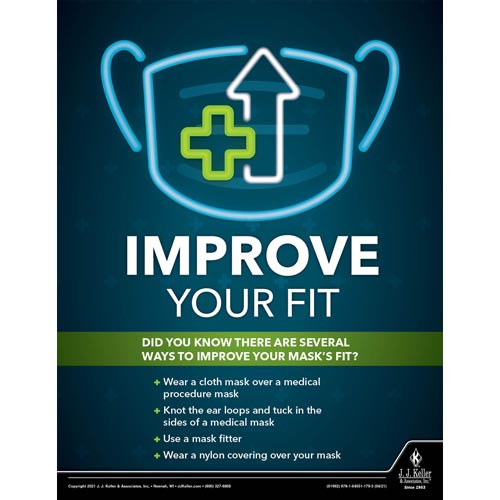 Improve Your Fit - Workplace Safety Training Poster (017600)