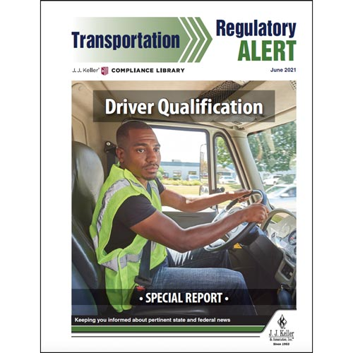 Special Report - Driver Qualification (017589)