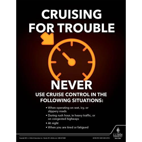 Cruising For Trouble - Transportation Safety Poster (017699)