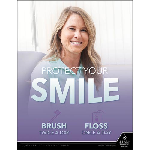 Protect Your Smile - Health & Wellness Awareness Poster (017688)