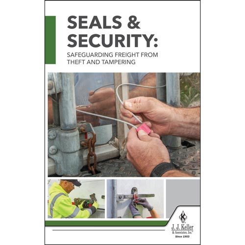 Seals & Security: Safeguarding Freight from Theft and Tampering Handbook (017812)