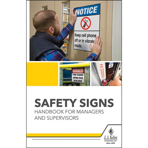 Safety Signs Handbook for Managers and Supervisors (017813)