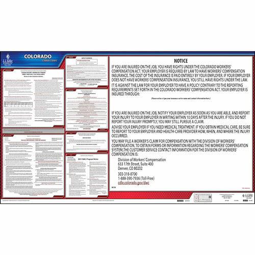 2021 Colorado & Federal Labor Law Posters (03951)