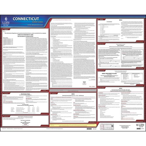 2021 Connecticut & Federal Labor Law Posters (03986)