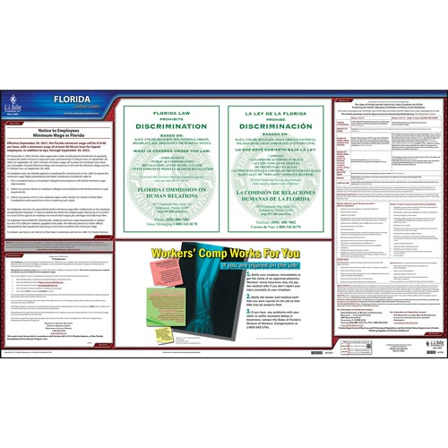 2022 Florida & Federal Labor Law Posters (03971)