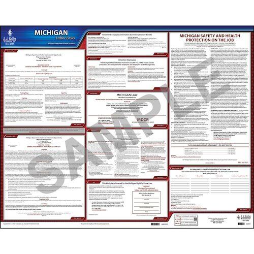2021 Michigan & Federal Labor Law Posters (03957)