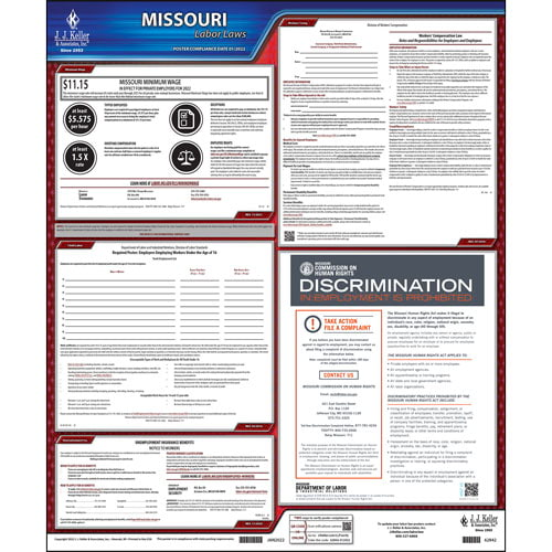 2021 Missouri & Federal Labor Law Posters (03992)
