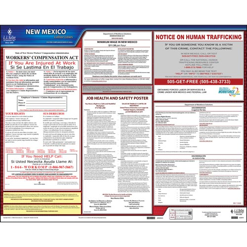 2021 New Mexico & Federal Labor Law Posters (03995)