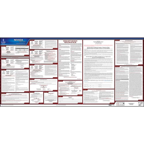 2021 Nevada & Federal Labor Law Posters (03960)