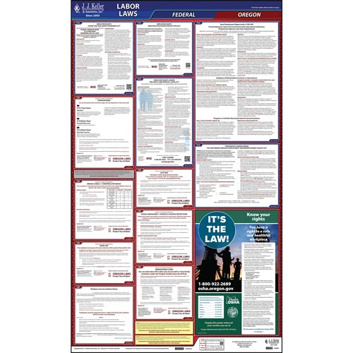 2021 Oregon & Federal Labor Law Posters (03962)