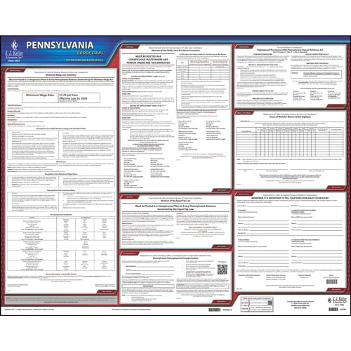 2021 Pennsylvania & Federal Labor Law Posters (03981)