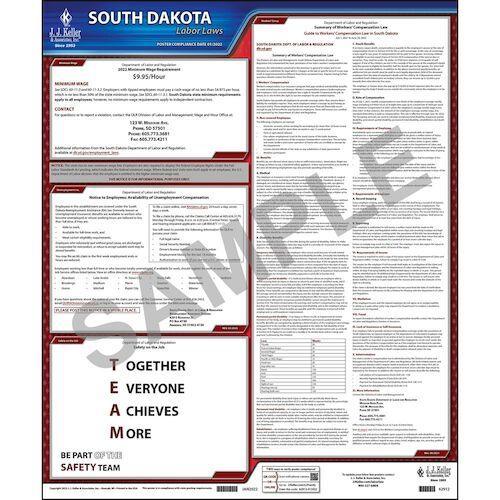 2021 South Dakota & Federal Labor Law Posters (03964)