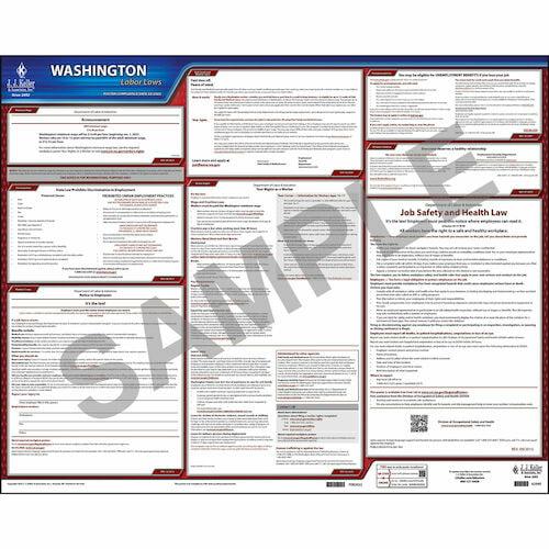 2021 Washington & Federal Labor Law Posters (03984)