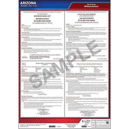 Arizona / Tucson Non-Discrimination Poster (012492)