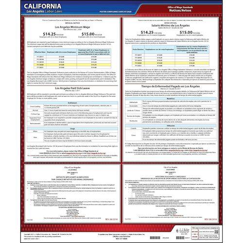 California / Los Angeles Municipal Code Poster (012504)