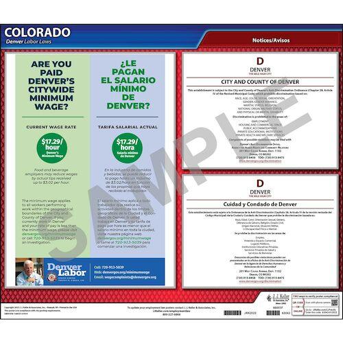 Colorado / Denver Non-Discrimination Poster (012519)
