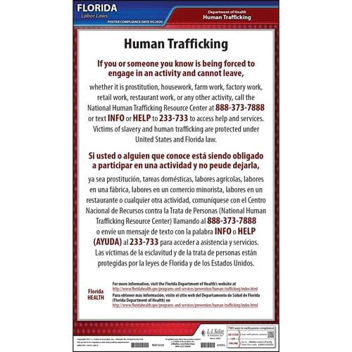 Florida Human Trafficking Poster (017366)