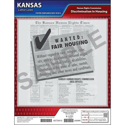 Kansas Fair Housing Poster (04943)