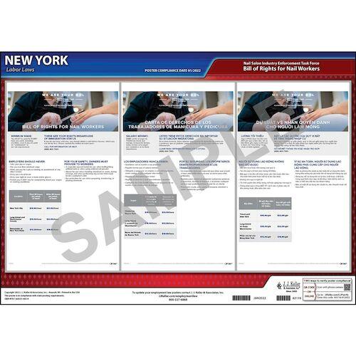 New York Nail Salon Poster (012539)