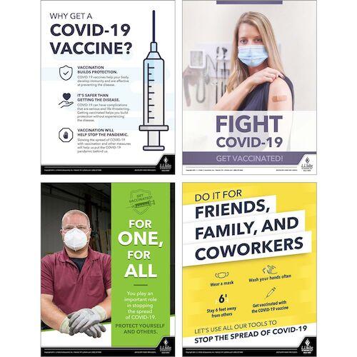Coronavirus (COVID-19) Vaccine Poster Kit (017935)