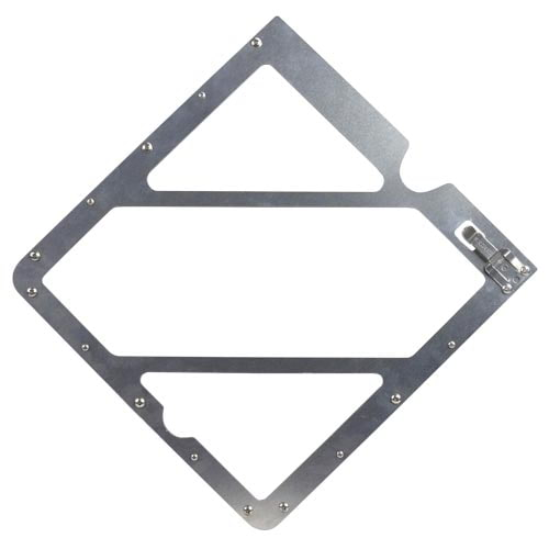Universal Aluminum Placard Holder without Back Plate (017964)