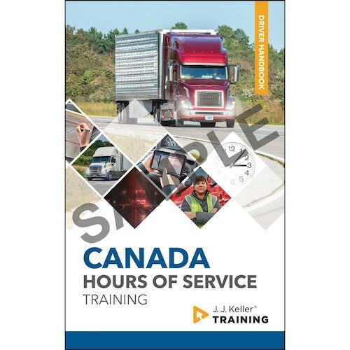 Canada Hours of Service Training - Driver Handbook (018147)