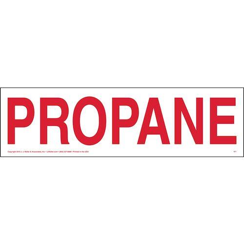 Propane Sign (01649)