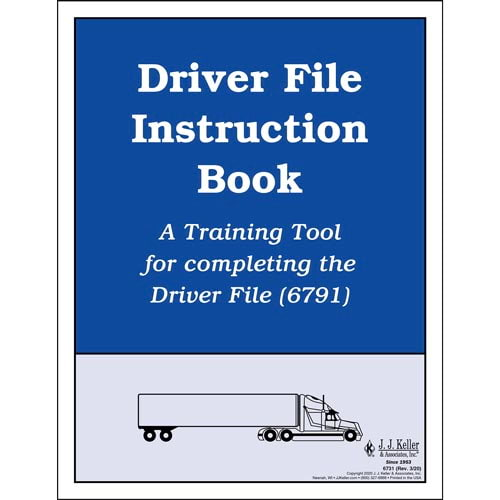 Driver File Instruction Book (01449)