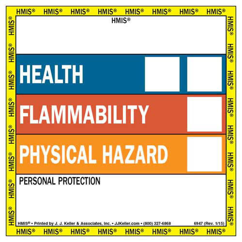 HMIS® III Labels - Square (00716)