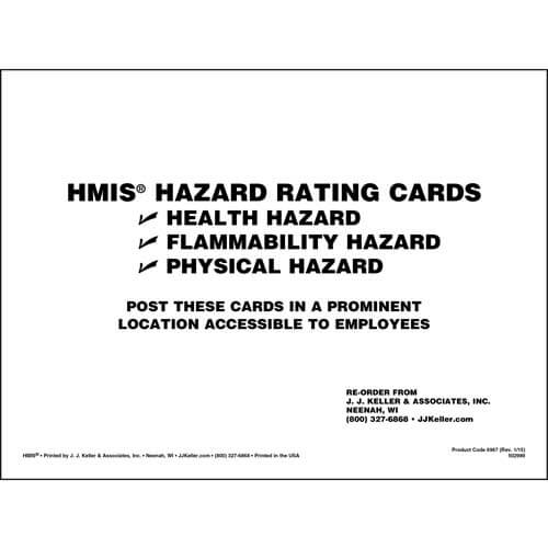HMIS® III Wall Chart Set (01880)
