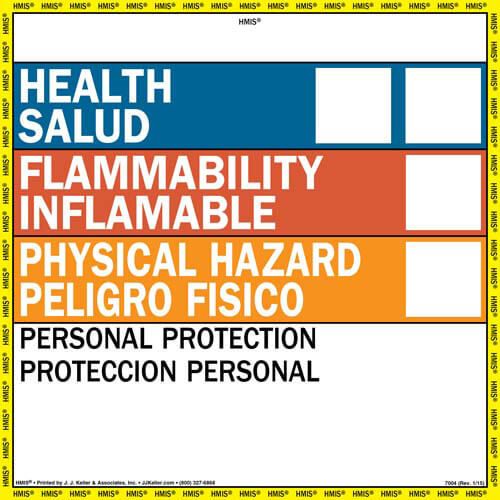 HMIS III Wall Poster in addition Warning Respiratory Protection Required Beyond This Point With Graphic ANSI Sign furthermore Caution Do Not Enter OSHA Fold Up moreover Caution Men Working OSHA Fold Up as well Drivers Inspection Report And Discharge Delivery System Daily Checklist. on productid labels