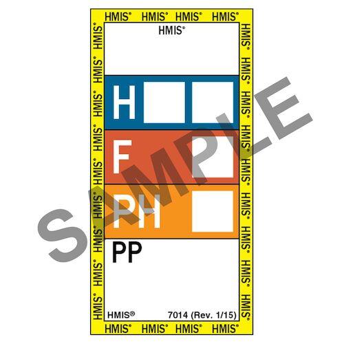 HMIS® III Laboratory Labels (01868)